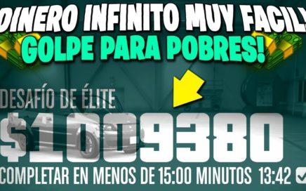 NUEVO DINERO INFINITO SUPER FACIL BESTIAL PARA POBRES! GTA 5 +3.000.000 EN 30 MINUTOS SUPER FACIL!
