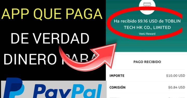 Nuevo método/ APPS  QUE PAGA DE VERDAD DINERO PARA PayPal 2018
