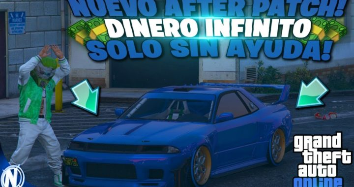 NUEVO! TRUCO DINERO INFINITO - GTA V 1.45 *SOLO SIN AYUDA* MUY FACIL! GTA 5 ONLINE (PS4 , XBOX ONE)