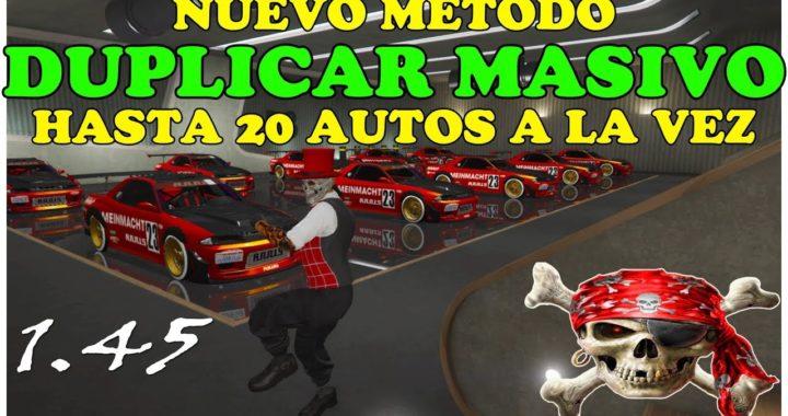 *NUEVO* TRUCO GLITCH GTA 5 COMO DUPLICAR MASIVO HASTA 20 AUTOS 1.45 PS4 Y XBOX