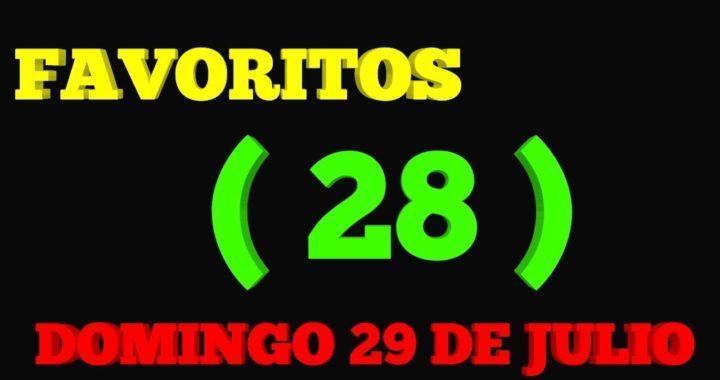 NÚMEROS FAVORITOS PARA HOY DOMINGO 29 DE JULIO PARA TODAS LAS LOTERIAS !!!
