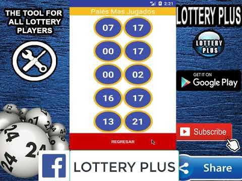 Numeros Para Hoy 20/08/2018 Agosto (Lottery Plus)