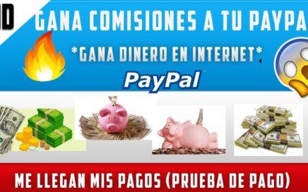 | ¡ PAGINA PARA GANAR DINERO EN INTERNET ! | COMISIONES  |PARA PAYPAL | 2018