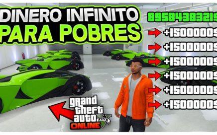 *PARA POBRES* SIN CLUB! DINERO INFINITO +1.500.000$ SIN BANEO! 100% LEGAL (DINERO FÁCIL GTA 5)