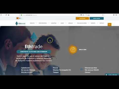 Retiro de dinero y Prueba de Pago de ETHTRADE CLUB   Agosto 2018
