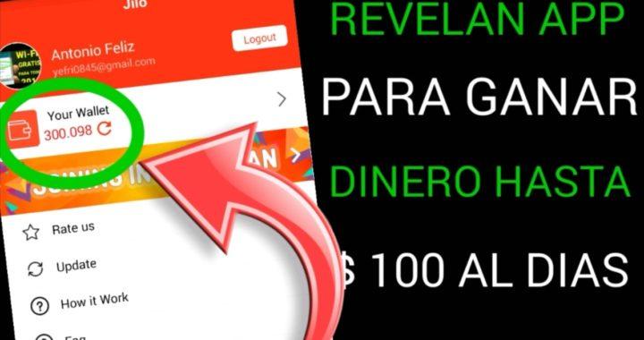 REVELAN APP PARA GANAR DINERO HASTA $ 100 AL DIAS/para PAYPAL 2018