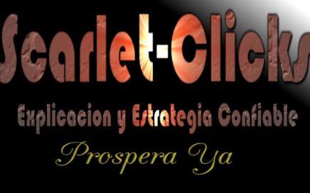 Scarlet Clicks | Explicación Completa | Como Ganar Dinero | Scarlet Clicks PTC Elite, confiable paga