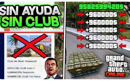 *SIN AYUDA Y SIN CLUB* DINERO INFINITO +1,000,000$ MUY FÁCIL Y RÁPIDO!  (TRUCO GTA 5 ONLINE 1.45)