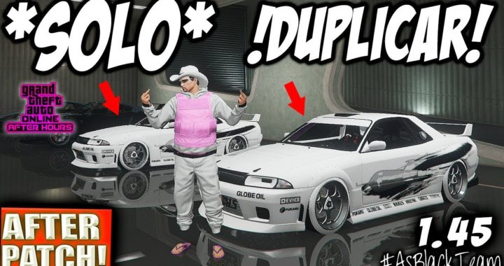 *SOLO - SIN AYUDA* - DUPLICAR COCHES - AFTER PATCH - GTA V - NUEVO MÉTODO - (PS4 - XBOX One)