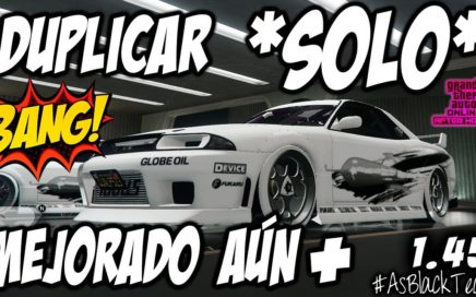 *SOLO - SIN AYUDA* - DUPLICAR COCHES - GTA V 1.45 - MEJORADO AUN MÁS - DINERO FÁCIL - (PS4 - XB1)