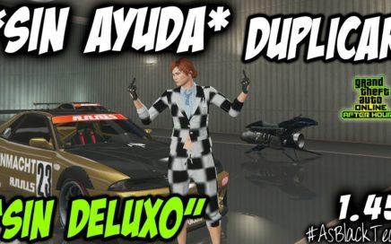 "*SOLOS - SIN AYUDA* - DUPLICAR COCHES MASIVO - GTAV 1.45 - ""SIN DELUXO"" - (PS4 - XBOX One)"