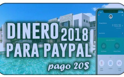 ¡SORPRENDENTE! ME PAGAN 20$ Al Dia | COMO GANAR DINERO EN PAYPAL [COMPROBANTE DE PAGO - AGOSTO 2018]