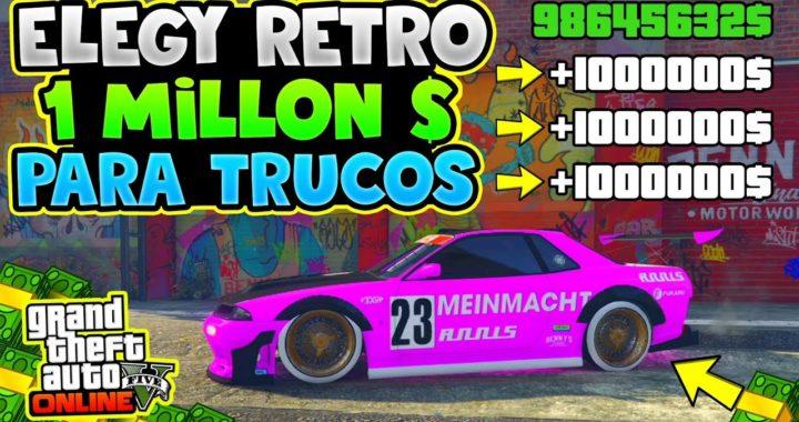 TENER ELEGY RETRO PERSONALIZADO DE 1.000.000$ *PARA TRUCOS* IDEAL PARA DUPLICAR GTA 5 ONLINE 1.45