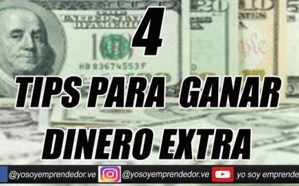 Tips para ganar dinero extra / yo soy emprendedor con Daniel Rodriguez
