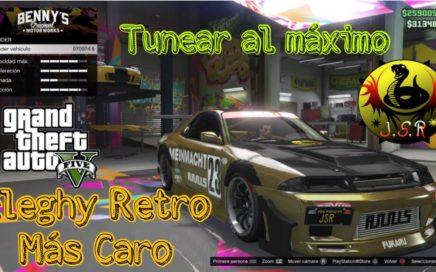 Tunear y Conseguir Eleghy Retro más caro. GTA 5 PS4 XBOX PC