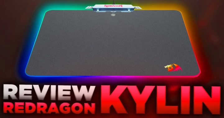 ¿Un Mousepad Rígido RGB Bueno, Bonito y Barato? - Unboxing & Review Redragon Kylin