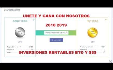 Únete a *Fix Club* y Gana Dinero como INVERSOR u(o)REFERIR , Super Rentable 22. 07.2018 VÍDEO 5
