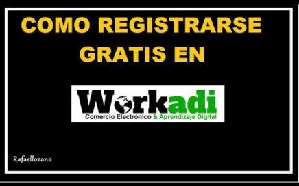 WORKADI ESPAÑOL - COMO REGISTRARSE EN WORKADI - Workadi Oficial.  GANA DINERO POR INTERNET