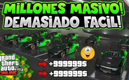 WOW! DINERO RÁPIDO Y FÁCIL +$10.000.000 *MASIVO* SIN BANEO! 1.45 GTA 5 ONLINE