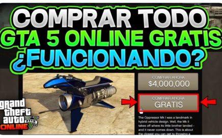 WOW! NUEVO TODO GRATIS EN GTA 5 ONLINE? *INFORMACIÓN* TENER TODO GRATIS GTA 5 ONLINE 1.44?
