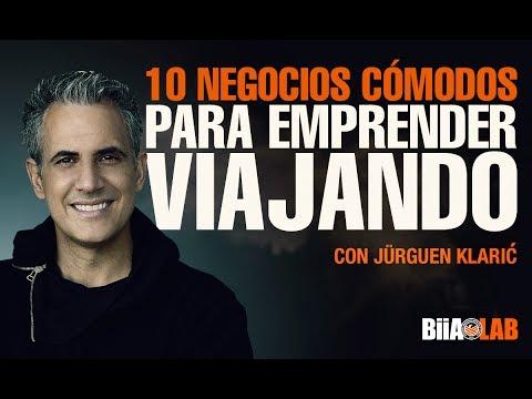 10 negocios cómodos para emprender para viajar y viajar para emprender  - Jürgen Klaric