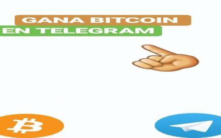 2 BOTS PARA GANAR BITCOIN GRATIS CON TELEGRAM | GANA DÓLARES X MINUTO
