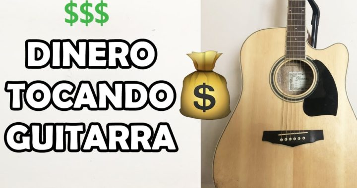 5 FORMAS DE HACER DINERO TOCANDO GUITARRA!
