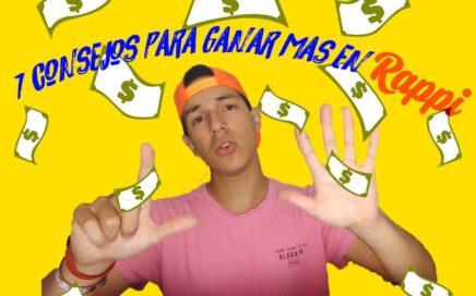 7 consejos para GANAR mas dinero en Rappi y ser mejor rappitendero
