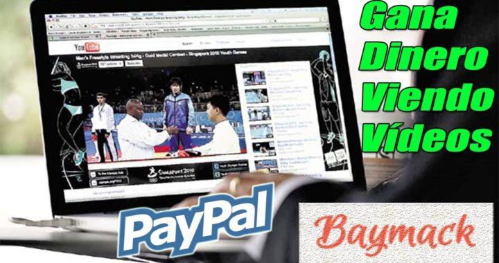Baymack Explicación Completa | Ganar Dinero a Paypal y Amazon Viendo Vídeos | Gokustian