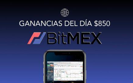 BitMEX - GANANCIAS DIARIAS $850 USANDO MI ESTRATEGIA PERSONAL (Leverage/Apalancamiento) 2018