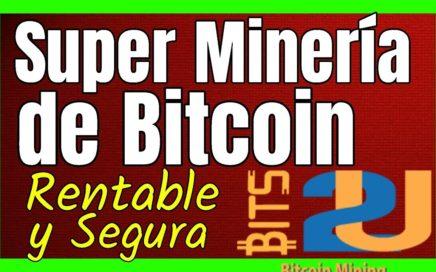 BITS2U Pagina De Mineria De Bitcoins MUY RENTABLE Minar BTC y Ganar Dinero Online