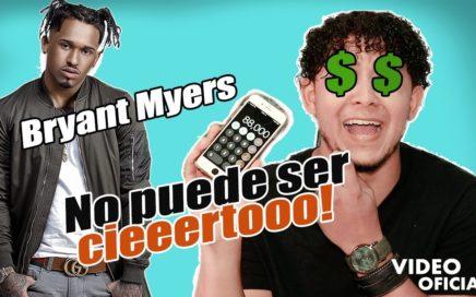 Bryant Myers, Cuanto DINERO Gana Con Su Música a Nivel Digital $$$