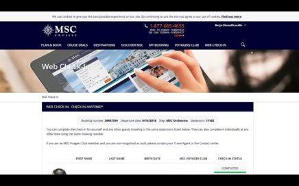 CHECK-IN MSC ORCHESTRA | GANA DINERO VIAJANDO INCRUISES | BorjaChenoll.com