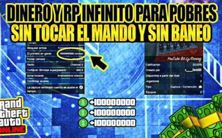 "COMO GANAR $1.000.000 LEGAL AL DIA SIN ESFUERZO ""GTA V ONLINE"" AFK MONEY Y RP INFINITA PS4"