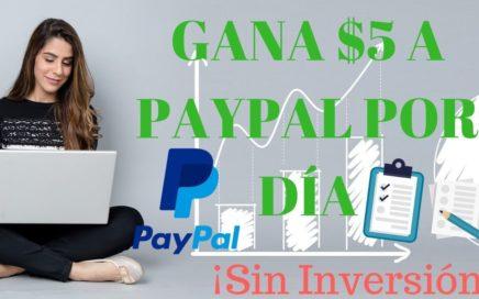 COMO GANAR $5 DÓLARES A PAYPAL | Sin Inversión MARKETAGENT 2018
