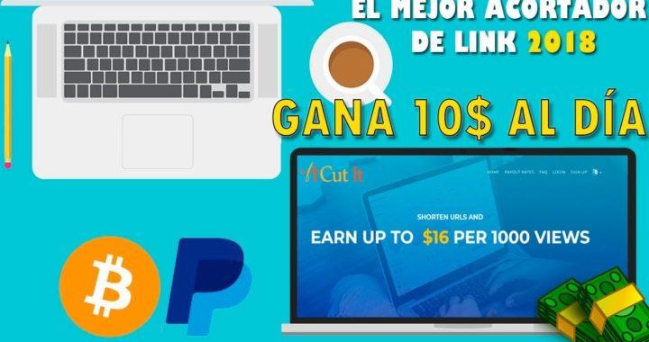 Como ganar dinero con acortadores - El acortador que MÁS PAGA EN SEPTIEMBRE DE 2018 Gana 8$ Diarios