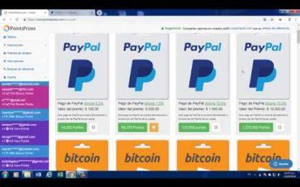 Como ganar dinero para paypal gratis o bitcoin  2018/Gana 20$ por semana