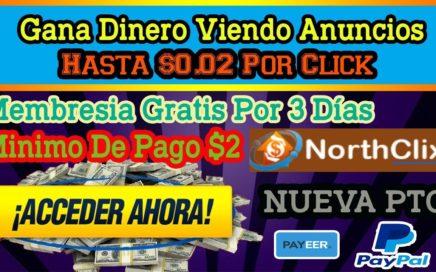 Como Ganar Dinero Viendo Anuncios   Nueva Página PTC 2018   Hasta $0.02 Por Click