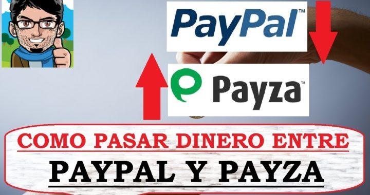 Cómo pasar dinero entre PAYZA y PAYPAL (100% seguro)