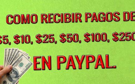 COMO RECIBIR PAGOS DE $5, $10, $25, $50, $100, $250 EN PAYPAL Y CREAR CUPONES EN ADS CYCLER