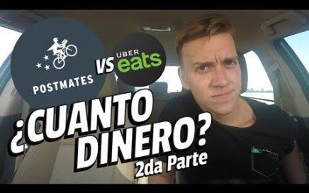 ¿Cuánto dinero se gana con POSTMATES? vs Uber Eats - 2da Parte