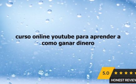 curso online youtube para aprender a como ganar dinero online