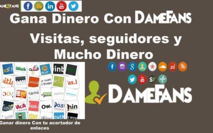 DameFans,Gana dinero con tus redes sociales