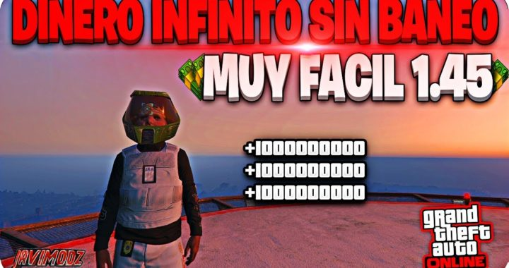 DINERO INFINITO GTA 5 ONLINE 1.45 SIN ESPERAS SIN RIESGO DE BANEO MUY FACIL (PS4/XBOX ONE/PC)