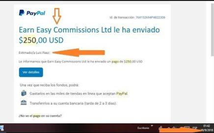 Earn Easy Commissions PAGA 1 Dolar Por Cada Amigo Que INVITES SIN INVERTIR