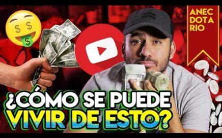 Formas para hacer dinero como creador en YouTube #Anecdotario