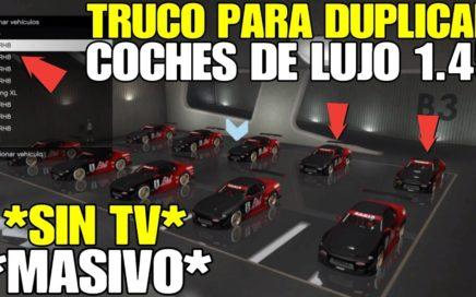 *FUNCIONANDO* GTA 5 ONLINE TRUCO DINERO INFINITO DUPLICAR COCHES DE LUJO 1.45 (PS4 / XBOX ONE / PC)