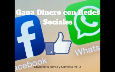 GANA DINERO CON REDES SOCIALES