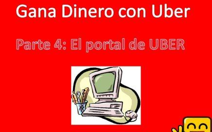 Gana dinero con Uber p4 EL Portal de Uber