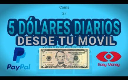 Gana dinero por Internet 5 Dólares Diarios Paypal